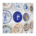 IXXI Wall Decoration Porcelain Plates - Rijksmuseum 100 x 100 cm