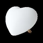 Mr Maria LIA heart lamp 42 cm high
