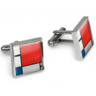 Mondrian Cufflinks by Lanzfeld
