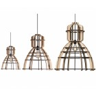No. 19 Industrial Ceiling Light MDF in three sizes by Olaf Weller