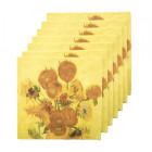 Vincent Van Gogh Napkins Sunflowers 20 per package