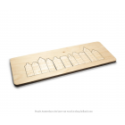 CRE8 Amsterdam puzzle - wood