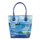 Van Gogh art bag Seascape