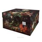 Dutch Design Storage Box Flowers - 40 x 31 x 21 cm