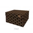 Dutch Design Storage Box Vinyl - 40 x 31 x 21 cm