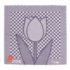 Tea Towel Tulip by Hollandsche Waaren in blue and white