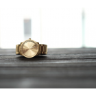 Piet Hein Eek Tube watch S38 of LEFF Amsterdam in brass or steel