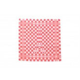 Usuals Tea Towels Greetings from Holland - Paris red