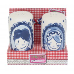 Pepper and salt set Delft Blond by Blond Amsterdam; an excellent wedding gift