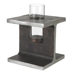 Candlestick, Industrial candleholder, pols potten