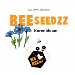 Beeseedzz cornflower - a nice gift that fits the postbox