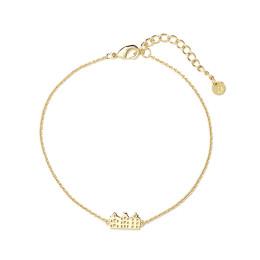 Grachtenpandjes Armband in 14 kt verguld bij shop.holland.com