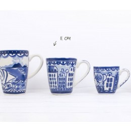 Cup Delft Blond Blue by Blond Amsterdam