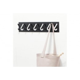 Gispen 1x6 hat rack with 6 hooks