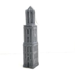 Kaars Domtoren Utrecht - 33 cm antraciet koop je bij shop.holland.com