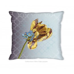 Hendrik' Design Kussenovertrek Yellow Tulips 45x45 cm front