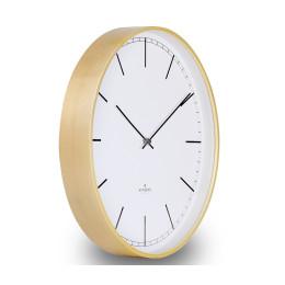 Huygens Wood wall clock 25, 35, 45 cm