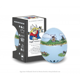 PiepEi egg timer Dutch scenery by Brutus Kookt