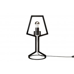 Gispen Outline table-lamp from black steel by Peter van de Water