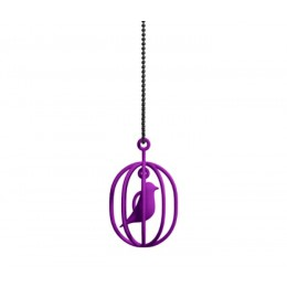Dutch design necklace Happy Bird purple: a perfect gift