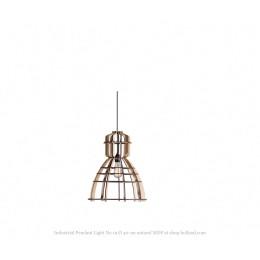No. 19 Industriële hanglamp MDF Ø 40 cm van Olaf Weller