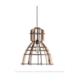 Industrial Pendant Light No. 19 XL Ø 60cm natural MDF at shop.holland.com