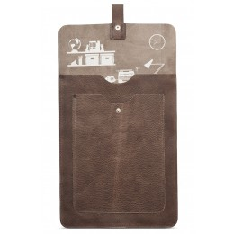 Leather Laptop Sleeve for Macbook by Keecie