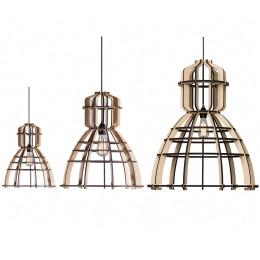 No. 19 Industriële hanglamp MDF in 3 maten van Olaf Weller