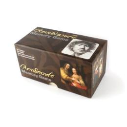 Dutch design memory game in a cardboard box