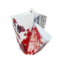 Folding Vase Red BY HENDRIK1