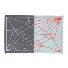 Present Time Placemat Unfolded Blush Colors