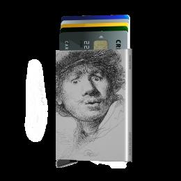 Secrid Cardprotector Rembrandt zilver - leuk cadeau voor hem