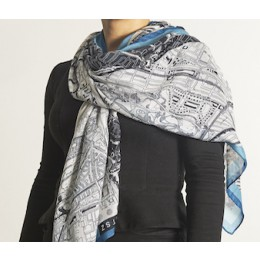 City scarf Barents Urban Fabric