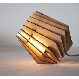 Homeware, lighting, wooden do-it-yourself designer lamp Tjalle & Jasper, kit