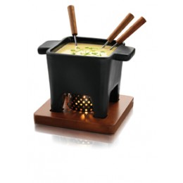 Atmospheric Cheese Fondue, Chocolate fondue