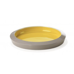 Saigon Lacquer Serving Tray Small Sulphur