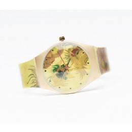 Vincent van Gogh watches almond blosssom