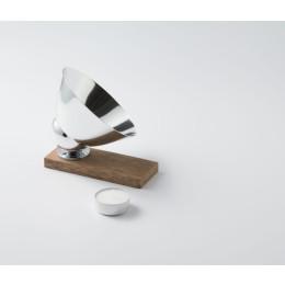 Vlamp Raw Large Waxinelichthouder en Spotlight - Aluminium