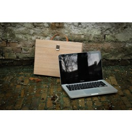 MacBook wood case, wood sleeve for laptop
