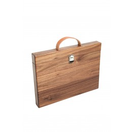 MacBook case, studio jasper wood macbook sleeve, nut