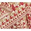 This 100% silk scarf is decorated with Square Limit, a piece of art by world-famous Dutch graphic designer M.C. Escher.