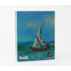 Gift idea: A5 notebook with print of Van Gogh masterpiece