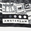 Dutch design Scarf Amsterdam Barends Urban Fabric