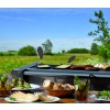Raclette on teh barbecue with Boska Cheese Barbeclette - great barbecue gifts
