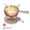 Boska Holland Copper Cheese Fondue 1 Litre wins Red Dot design Award for Dutch Design