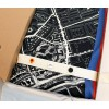 You receive the rectangular City scarf Amsterdam North-South Large (65 x 170 cm) in a beautiful gift wrapping