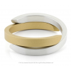 Clic by Suzanne bracelet A1G  in gold and silver aluminium at shop.holland.com