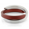 Clic by Suzanne bracelet A1R in red and silver aluminium at shop.holland.com