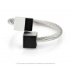 CLIC ring R4Z black and silver aluminium at shop.holland.com