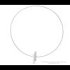 Clic C116 necklace in matt and gloss aluminium aj shop.holland.com
